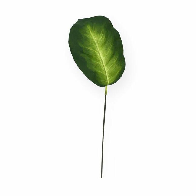 Sztuczny liść Dífenbachia 15 cm