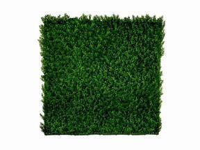 Sztuczny panel iglasty Cypruštek tujovitý - 50x50 cm