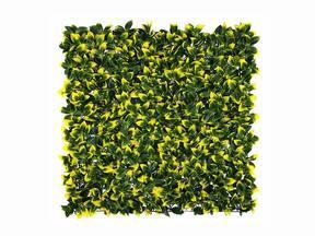 Sztuczny panel liściasty Holly - 50x50 cm