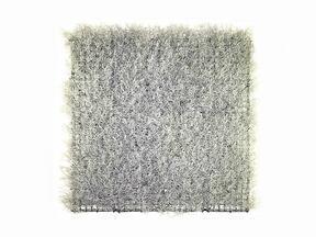 Sztuczny srebrny panel Calocephalus - 50x50 cm
