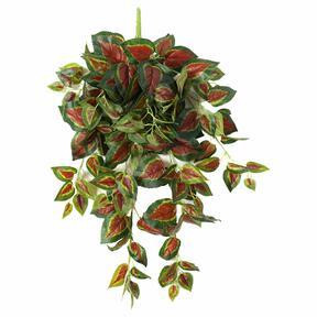 Sztuczny wąs Bazylia czerwona 80 cm
