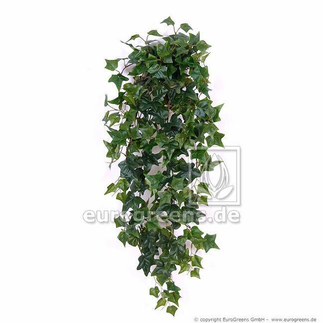 Sztuczny wąs Bluszcz zielony 80 cm