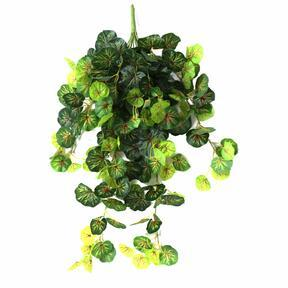 Sztuczny wąs Geranium zielono-czerwony 80cm