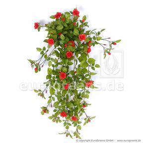 Sztuczny wąs Różany czerwony 85 cm