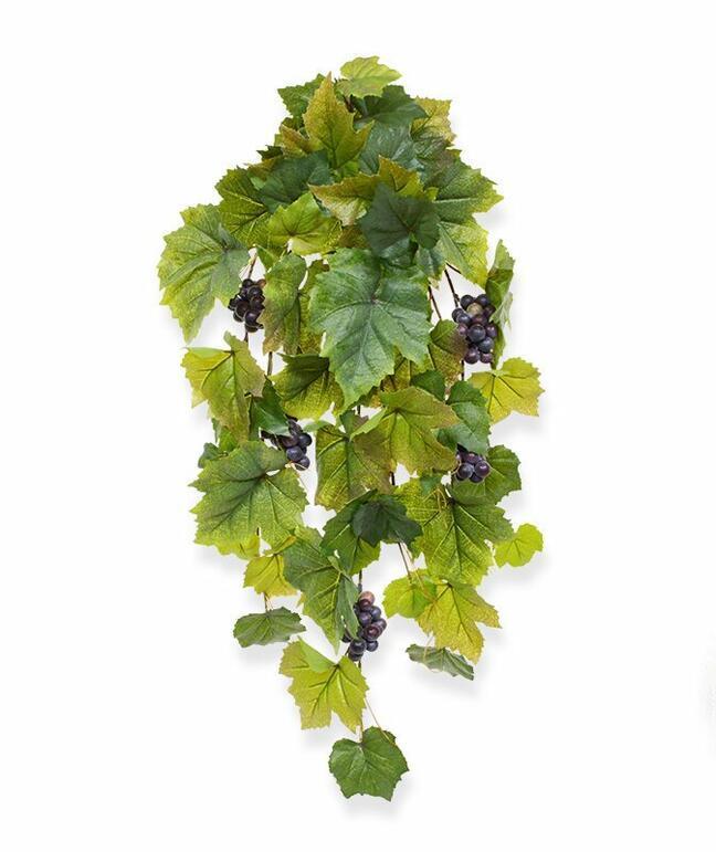 Sztuczny wąs Winogrona 60 cm