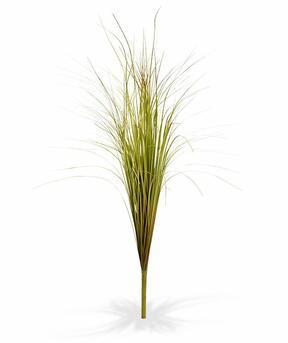Sztuczny zielono-brązowy ryflowany wiązka trawy 80 cm